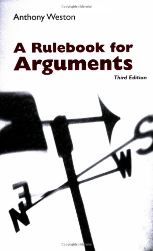A Rulebook for Arguments, Anthony Weston