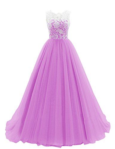 dresstells-womens-long-tulle-ball-gowns-wedding-dress-evening-formal-party-maxi-dress-lilac-size-26w