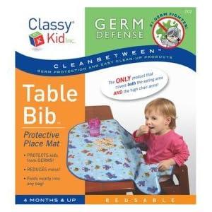 Table bib at the Natural Nursery