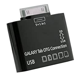OEM USB OTG Connection Kit & Card Reader for SAMSUNG GALAXY TAB 10.1 P7500 P7510 BLACK