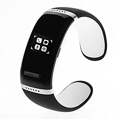 Bwatch V3.0 OLED Touch Screen Smart Bracelet Bluetooth Bracelet for Google Android Mobile Phone, Iphone, Microsoft Windows Phone System, Nokia Symbian-White