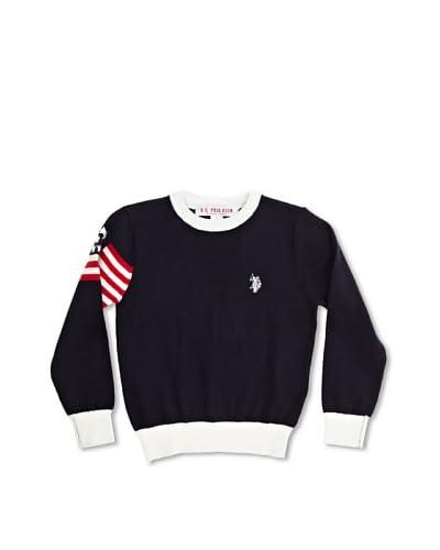 U.S. Polo Assn Jersey Azul Oscuro