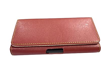 nKarta-(TM)-Magnetic-Closure-Leather-Pouch-Cover-Case-For-Phicomm-Energy-653-4G-Brown