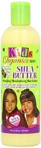 Africa's Best Kids Organic Shea Butter Detangling Moisturizing Hair Lotion, 12 Ounce (Pack of 2)