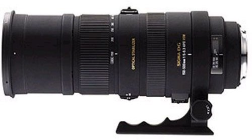 Sigma 150-500mm F5-6.3 APO DG OS HSM Lens for Sony Digital SLR Cameras