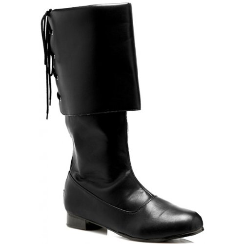 Sparrow Black Boots Costume Shoes - Medium