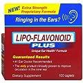Lipo-Flavonoid Plus Dietary Supplement, For Ear Health 100 ea