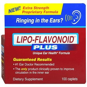 Lipo-Flavonoid Plus Dietary Supplement, For Ear Health 100 Ea
