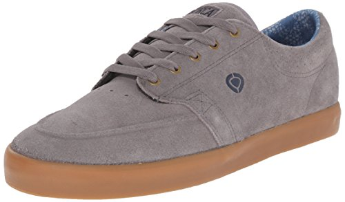 C1RCA Men's Transit Skate Shoe, Frost Gray/Dress Blues, 8 M US