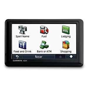 Garmin nüvi 1490/1490T 5-Inch Widescreen Bluetooth Portable GPS Navigator with Lifetime Traffic $124.61