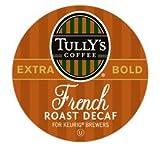 KEURIG Kカップ  Tullys*フレンチロースト・エクストラボールドコーヒー/デカフェ(24個)【並行輸入品】