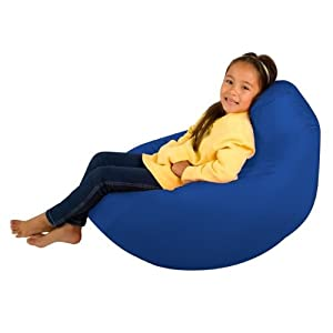 Kids Hi-BagZ - Kids Bean Bag Gaming Chair - Childrens Beanbag (Water Resistant) BLUE from Hi-BagZ