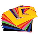 GUMMED PAPER SQUARES IN ASSORTED COLOURS F22