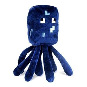 Minecraft 7-Inch Squid Animal Plush Toy