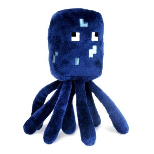 "Squid ~7"" Minecraft Overworld Mini-Plush Series"