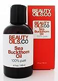 BEAUTYOILS.CO Sea Buckthorn Berry Oil - 100% Pure (4 fl oz)