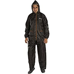 Newera Galaxy Reverseable Impenetrable Moisture Barrier Solid Men's Raincoat(galaxy>bk)