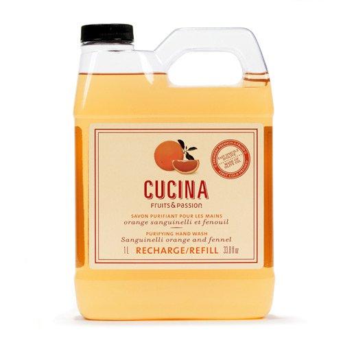 Fruits & Passion Sanguinelli Orange and Fennel Hand Wash Refill 1L