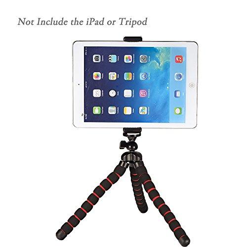 mudder universal tablet holder clip mount adapter for selfie stick camera monopod tripod ipad 4. Black Bedroom Furniture Sets. Home Design Ideas