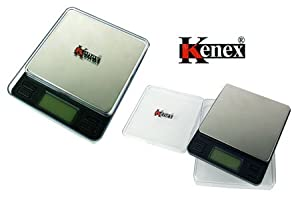 (Kenex) Professional Digital Pocket Scale Magno Silver