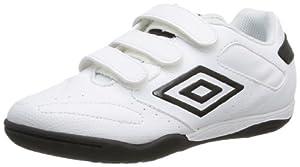 Umbro Vision Sw League Velcro 5 853 89u - Zapatillas de deporte para niño, color blanco, talla 33