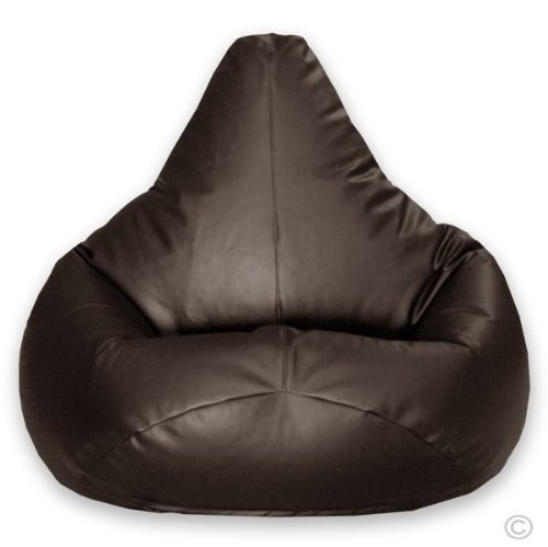 Hi BagZ Gaming Beanbag Faux Leather BROWN Bean Bag Chair