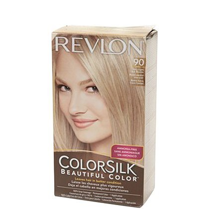 Revlon Colorsilk Hair color, Pale Ash Blonde offers leaves your hair silkier