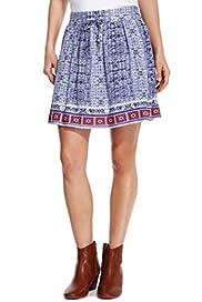 Skirts - BATIK HEM SKIRT [T66-4124-S]