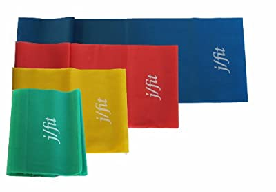 Jfit Resistance Exercise Bands Set Of 4