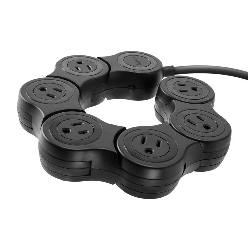Quirky PPVPP-BK01 Pivot Power POP - Black (Flexible Power Strip compare prices)