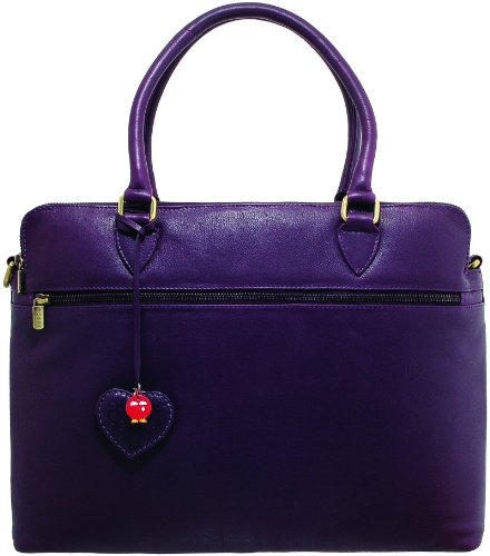 Yoshi Savile Soft Leather Business Bag / Laptop Bag YBB05