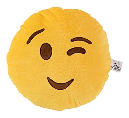 "Love Bomb cojines 0005""Wink Wink Emoji Cojín"
