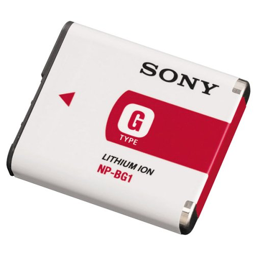 Sony NP-BG1 Type G Lithium Ion Rechargeable Battery Pack for Sony W Series, T20, T100, N2, N1, H7 & H9 Digital Cameras