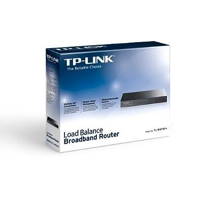 TP-Link TL-R470T+ Load Balance Broadband Router (Black)