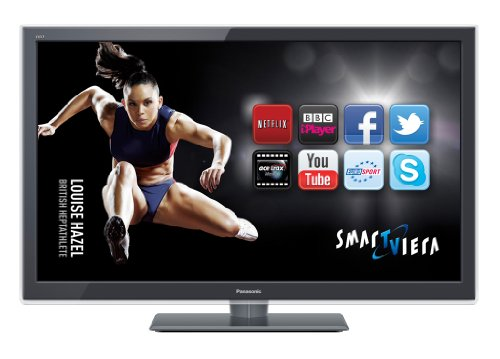 Panasonic TX-L37ET5B 37-inch Widescreen Full HD 1080p 3D LED TV with Freeview HD - Dark Grey