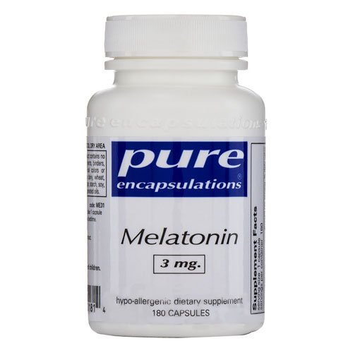 Dietary Supplement pur Encapsulations mélatonine
