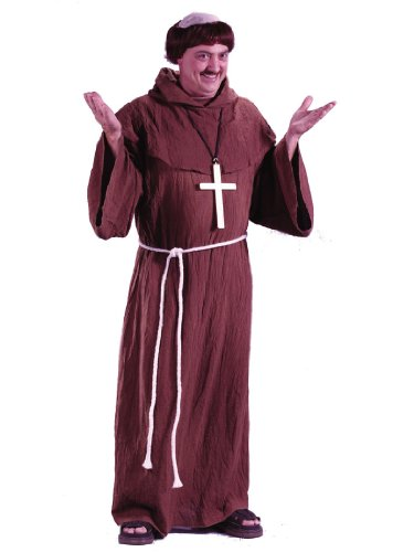 Medieval Monk Brother Christianity Tibet Religious Theatre Costumes