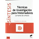 Tecnicas de investicacion para historiadores