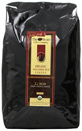 The Bean Coffee Company, Le Bean (Dark French Roast) Ground Coffee, 5-Pound Bags