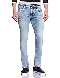 Lawman Men's Relaxed Jeans (890739505532W x 34L0_PG3 KMN-1635STR RLXSLMFT MNTBL_32W x 34L_Blue)