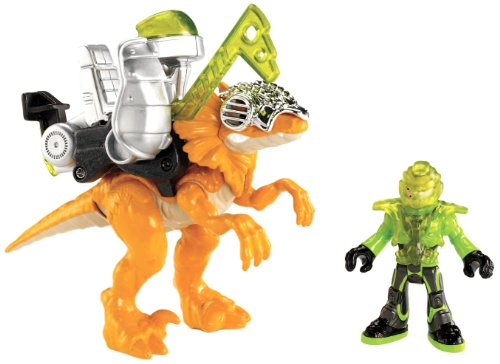 Fisher-Price Imaginext Raptor front-91177