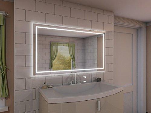 Badspiegel mit Beleuchtung Aurora M215L4: Design Spiege 12134