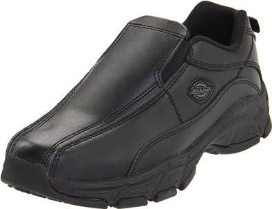 Dickies Women's Athletic Slip-On,Black,5.5 M US