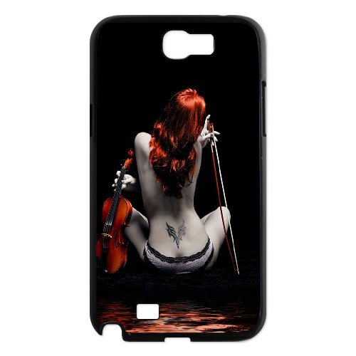 Samsung Galaxy Note 2 N7100 Sexy Figure Phone Back Case Personalized Art Print Design Hard Shell Protection Aq028678