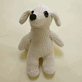 Sckoon Organic Cotton Knit Dog Doll