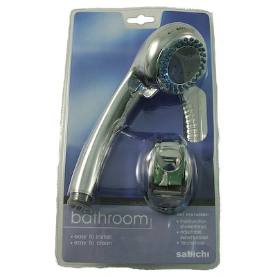 Sabichi 3 Function Shower Head and Hose 65926