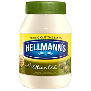 Hellmann's Mayonnaise with Olive Oil, 30oz