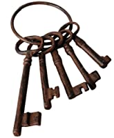 Fallen Fruits DB53 Cast Iron Small Keys by Fallen Fruits