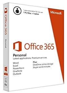 Office 365 Personal 1yr Subscription Key Card
