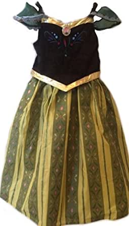 Disney Land Authentic Princess Anna Coronation Dress Size 6 Ships out same day.